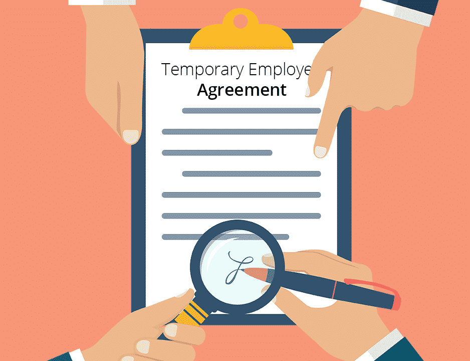 Temp Employee agreement