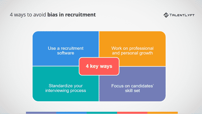 ways to avoid bias in recruitment