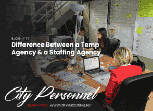 temp agency vs staffing agency