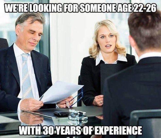 Job Search Meme College Graduates