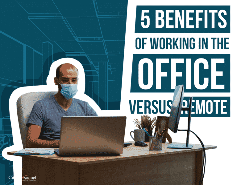 Benefits of Working in an Office vs. Remote Work