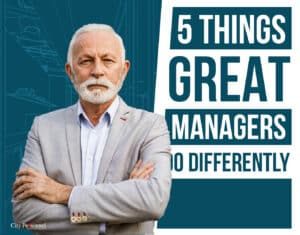 what do great manager do differently