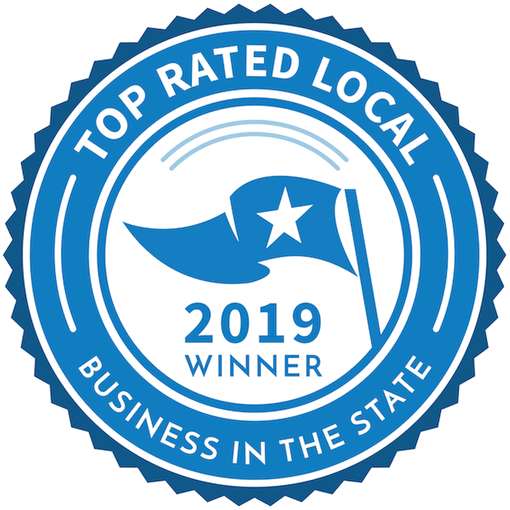 Top Rated Local 2019 Winner logo