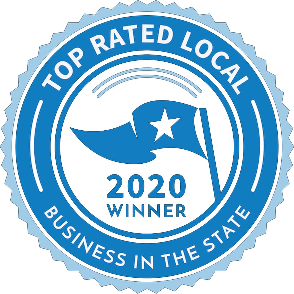 Top Rated Local 2020 Winner Logo