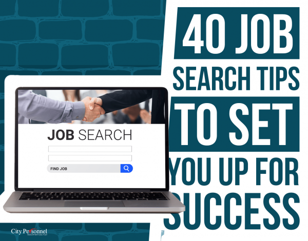 40 job search tops to set you up for success