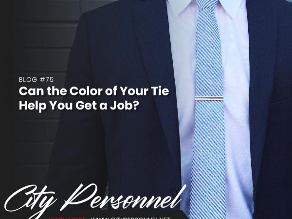 tie color blog post