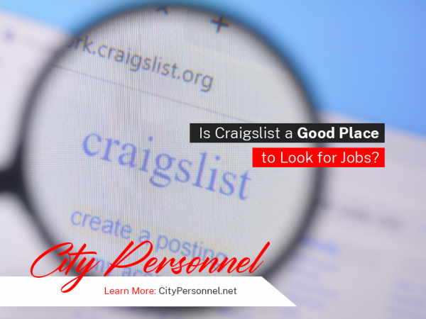 Is craigslist a good place to look for jobs